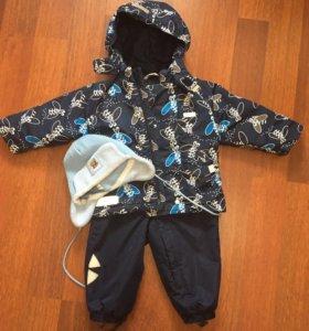 Зимняя куртка и полукомбинезон в комплекте
