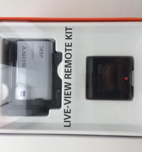 Sony FDR-X3000R Action Cam 4K View Remote Control