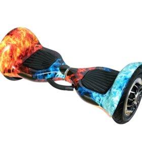 Гироскутер Smart Balance 10 дюймов «Лед и пламя»
