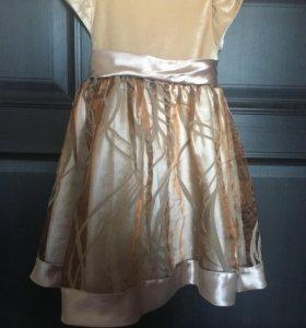 Платье для девочки размер по длине 65 см