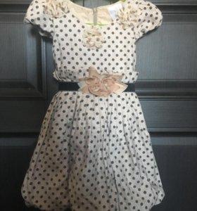 Платье для девочки размер по длине 52 см