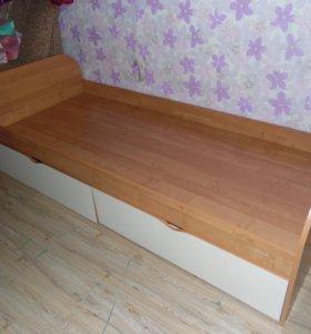 Кровать 1спальная 1.7м