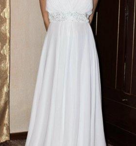 Платье в пол 50-54р