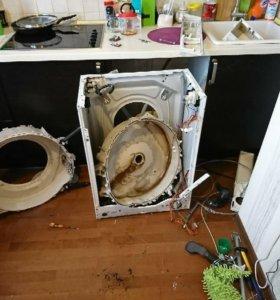 Ремонт стиральных машин и сантехники.