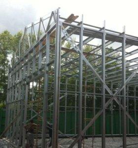 Строительство гаража!