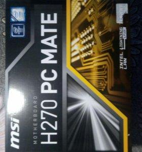 Материнская плата MSI H270 PC MATE