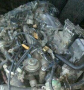 Двигатель 2с в разбор,стартер тнвд ,генератора нет