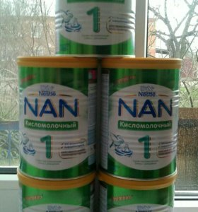 Нан 1 кисломолочный 400 гр
