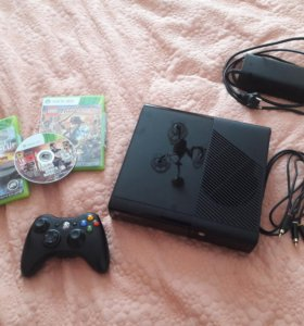 Xbox 360 + 3 игры