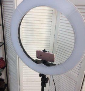 Аренда кольцевой лампы