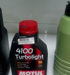 Motul 4100 Turbolight A3/B4 10W40 п/с 1л