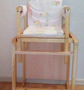 Стульчик для кормления (стол и стул)