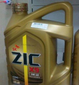 ZIC X9 5w40 SM/CF синт 4 л.