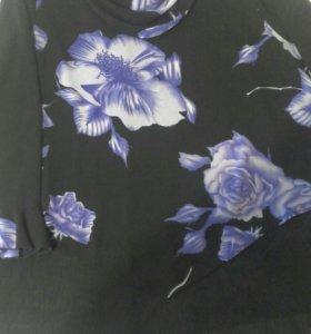 Блузка и кофточка Р-р 62-64