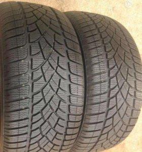 Зимние шины R16 205 60 Dunlop Winter Sport 5 2шт