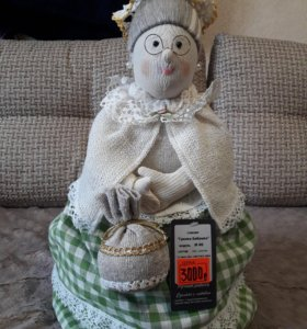 Грелка бабушка на чайник