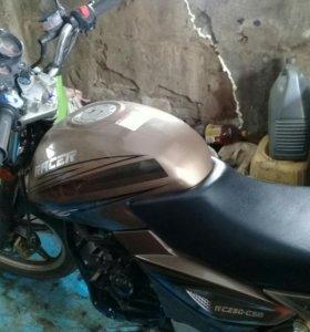 Мотоцикл рейсер рс250с5в