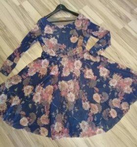 Весеннее прекрасное платье