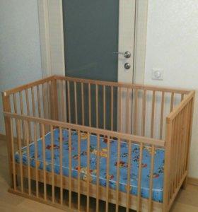 Кроватка детская икея ikea