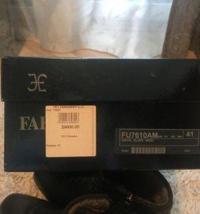 продам зимние туфли Fabi
