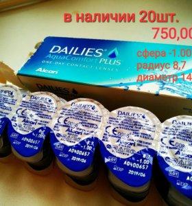Линзы Dailies AquaComfort Plus