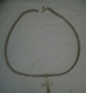 Цепочка с крестиком