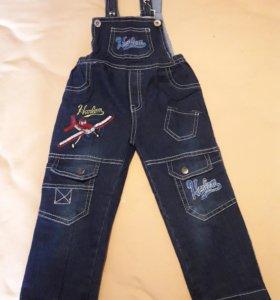 Комбинезон джинсовый (полукомбинезон)