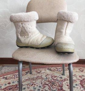 Сапоги зимние.30 размер.б/у
