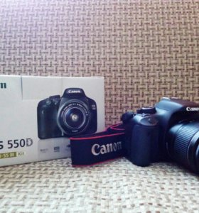 Canon EOS 550D + ES-F 18-55 iii kit