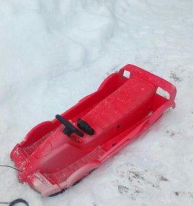 Снегокат-машинка