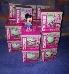 Кукла-сюрприз LOL Surprise в шарике 2-я серия