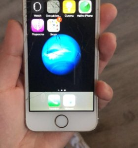 Айфон 5s 16 Gb в рабочем состоянии.