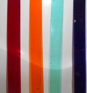 Цветное стекло (пластины).