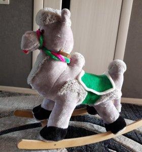 Игрушка-качалка Верблюд