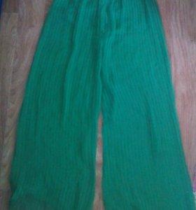 Юбка брюки(шифон)+юбка 300 б/у