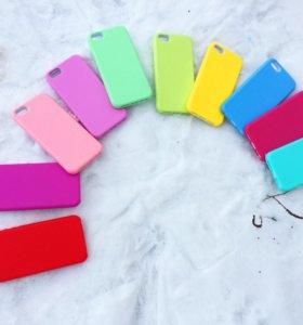 Силиконовые чехлы для iPhone 5s / iPhone SE