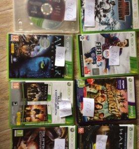Диски на Xbox 360