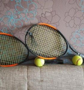 Детская ракетка для большого тенниса