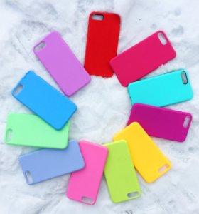 Силиконовые чехлы на iPhone 7+ / iPhone 8+