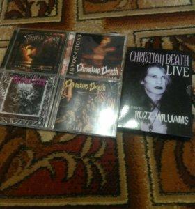 Лицензионные диски Christian Death