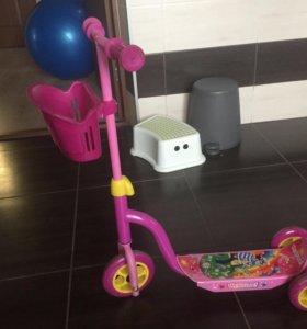 Скутер Детский 3-х колесный
