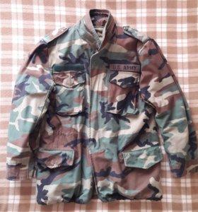 Куртка М-65 woodland