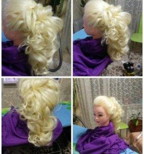 Болванка учебная блонд новые