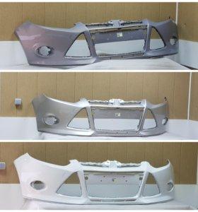 Передний бампер в цвет Ford Focus 3