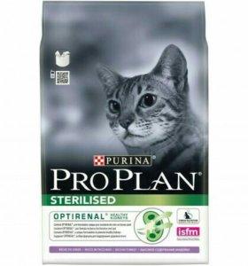 Про план для кошек 3 кг индейкой стерильные