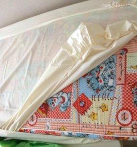 Матрас в кроватку 120*60 см. Новый.