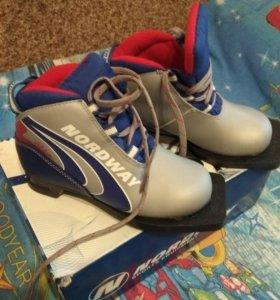 Ботинки лыжные 30 р.