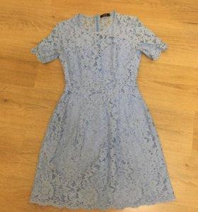 Платье lusio Xs голубое