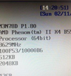 Процессор + материнка