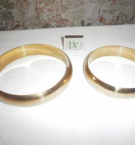 кольца свадебные на машину